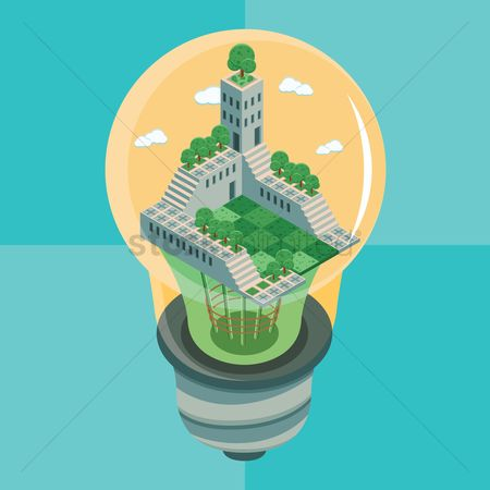 技术 : Building in electric lightbulb