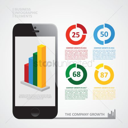 信息图表 : Business infographic elements