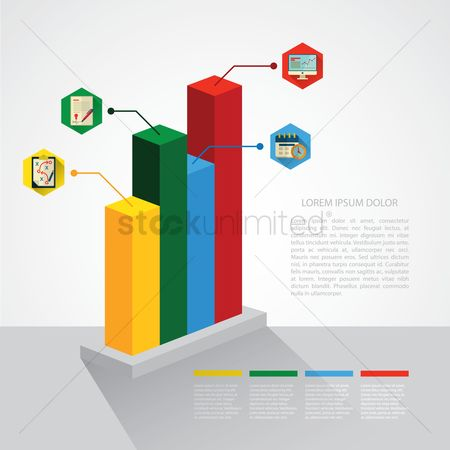 信息图表 : Business infographic