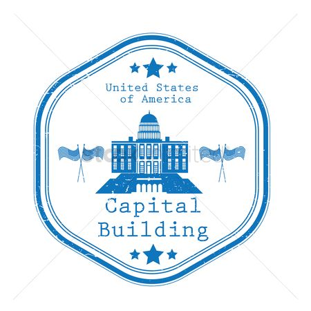房屋地标 : Capital building label