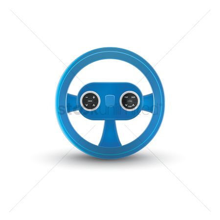 汽车 : Car steering wheel