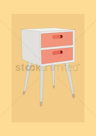 内饰 : Chest of drawers