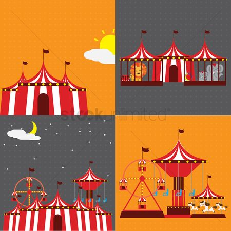 搜藏 : Circus equipment collection