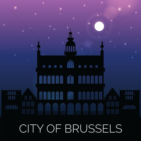 房屋地标 : City of brussels