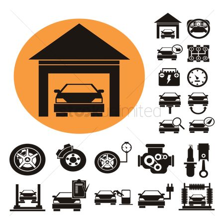 火花 : Collection of automobile icons