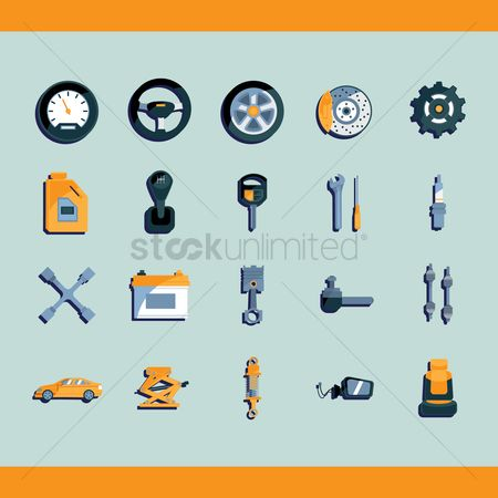 火花 : Collection of car related objects
