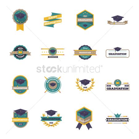 色带 : Collection of graduation labels