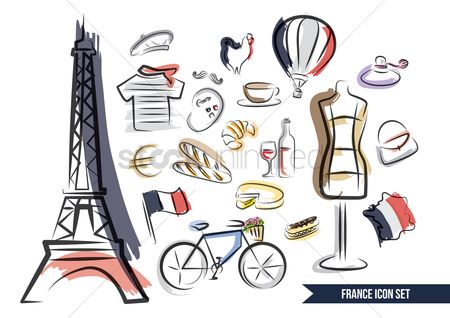 花色 : Collections of french items