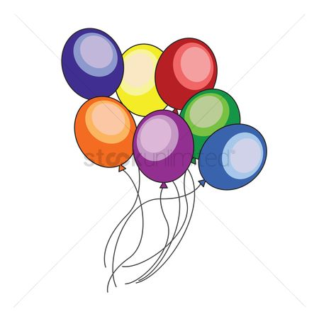 庆典 : Colorful balloons