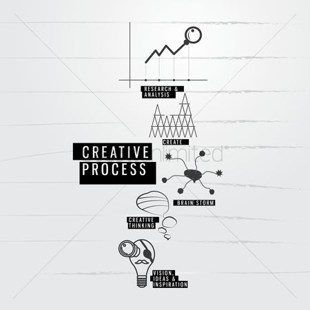 技术 : Creative process icons