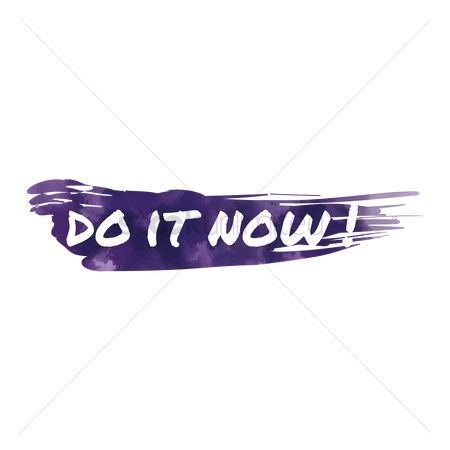 动机 : Do it now