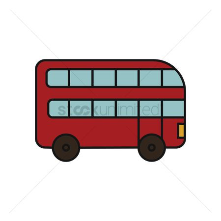 汽车 : Double-decker bus