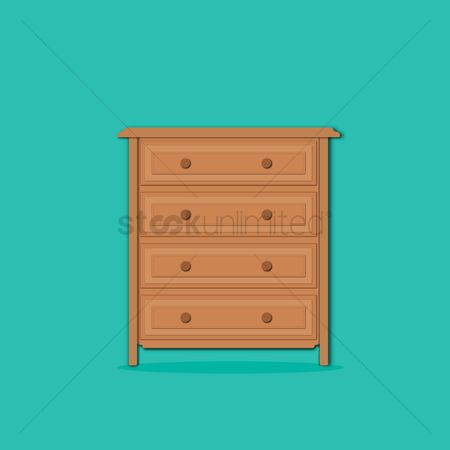 内饰 : Drawer on turquoise background