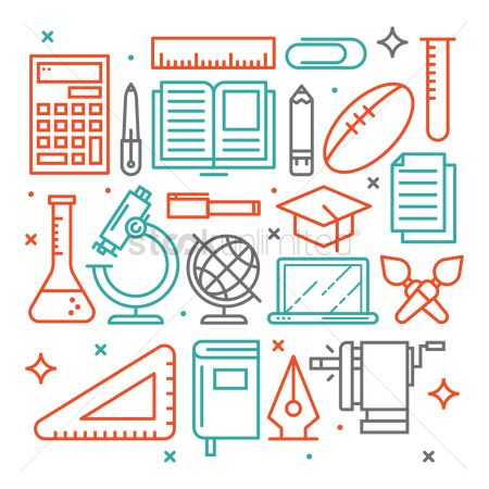 体育 : Education icons set