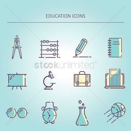 体育 : Education icons