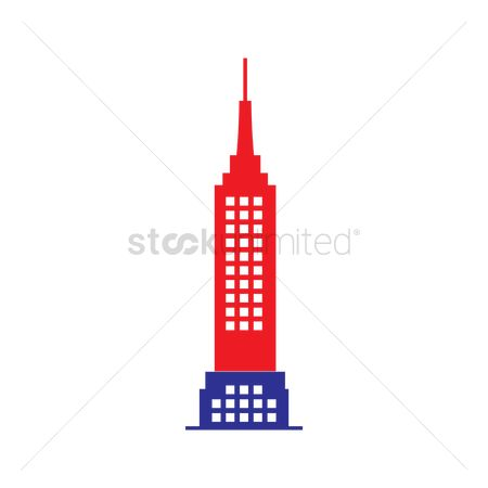 房屋地标 : Empire state building