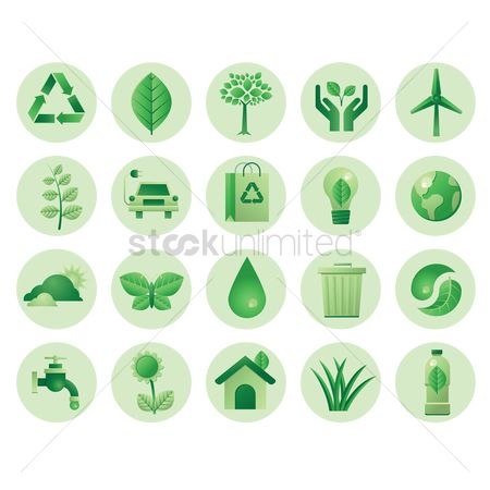花 : Go green icons