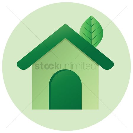 环境 : Green house icon