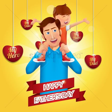 庆典 : Happy father s day design