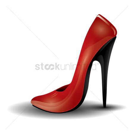 美女时尚 : High heel shoe