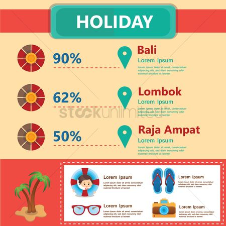 孩子 : Holiday infographic