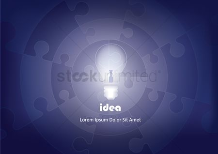 技术 : Idea abstract background