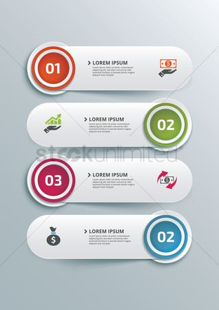 抽象化 : Infographic design elements
