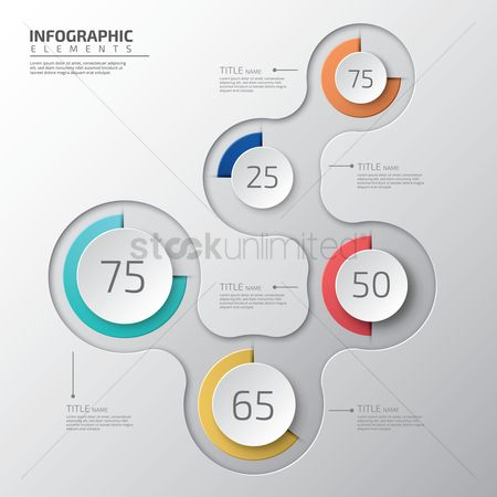 信息图表 : Infographic design elements