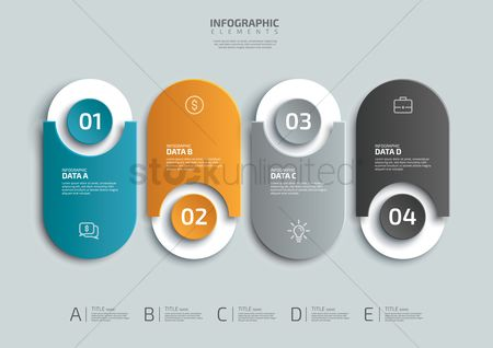 标题 : Infographic design elements