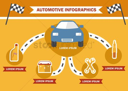火花 : Infographic of automotive