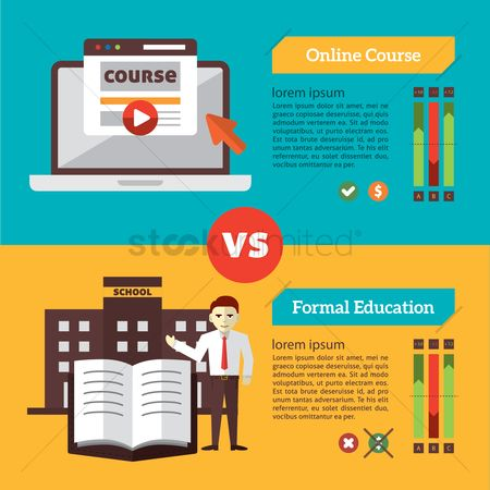 学校 : Infographic of education