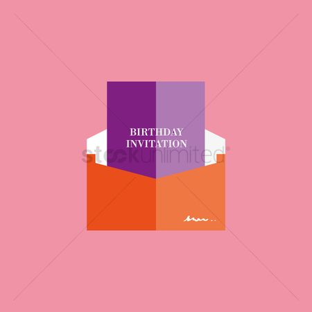 请帖 : Invitation card