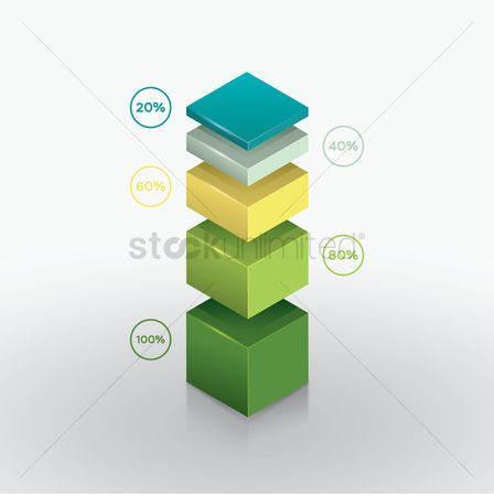 信息图表 : Isometric diagram