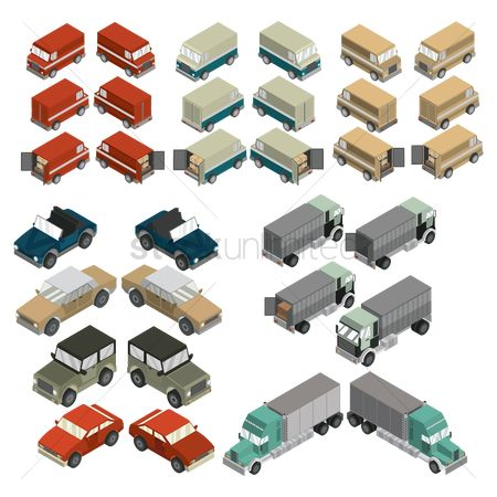 庆典 : Isometric vehicles