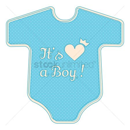 面料 : Its a boy sticker