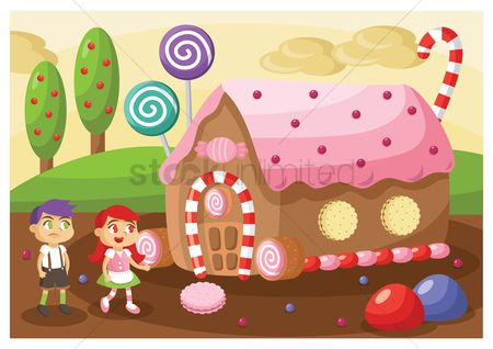 孩子 : Kids in candy land