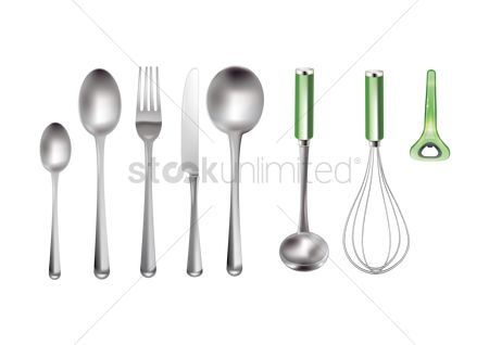 处理 : Kitchenware set