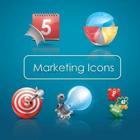 业务 : Marketing icons