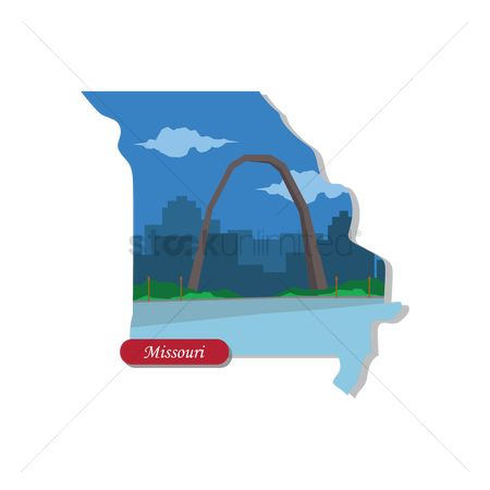 房屋地标 : Missouri state map