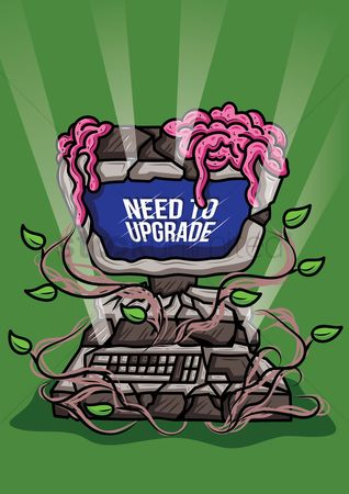 技术 : Need to upgrade computer