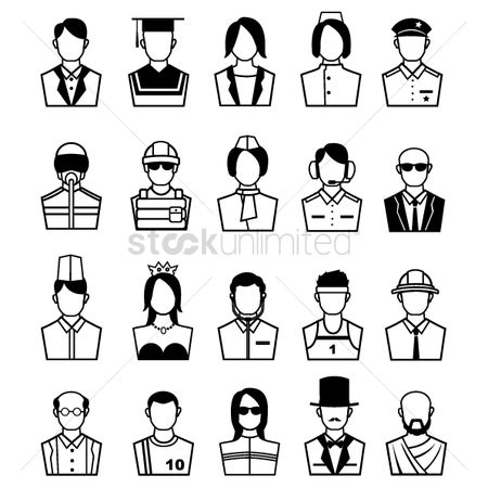 体育 : People with different professions