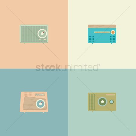 消息 : Portable radio set