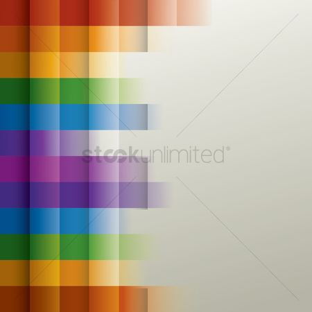 花色 : Rainbow background
