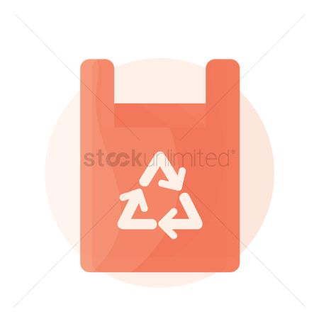 环境 : Recycle bag icon