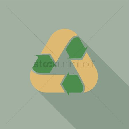 环境 : Recycle sign