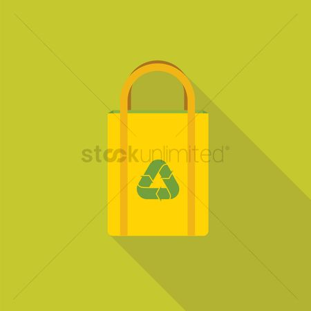 环境 : Recycling bag