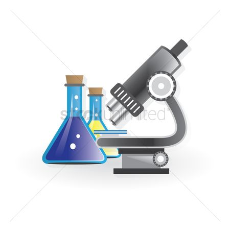 学校 : School science lab