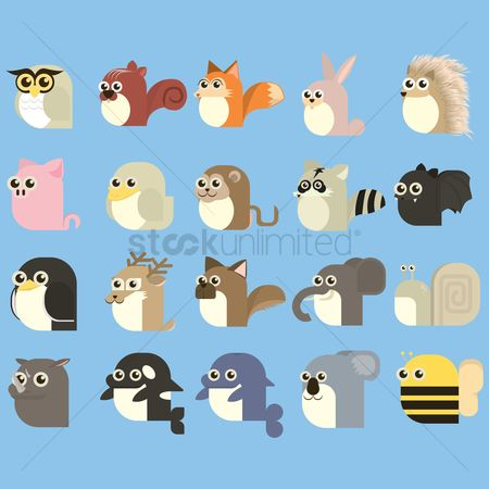 动物 : Set of animals