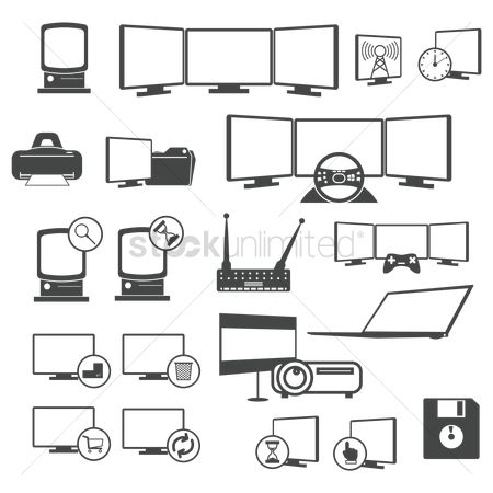垃圾 : Set of computer icons