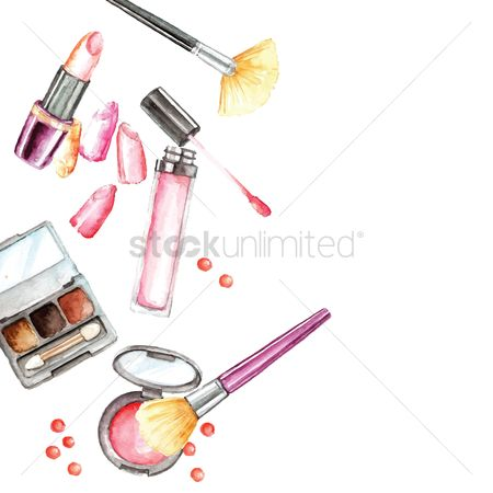 搜藏 : Set of cosmetics